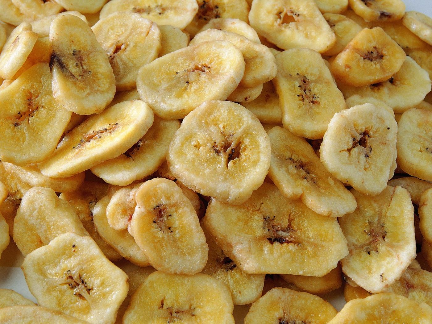 Сушеный банан дома