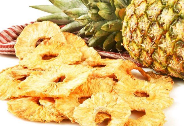 Сушеный ананас
