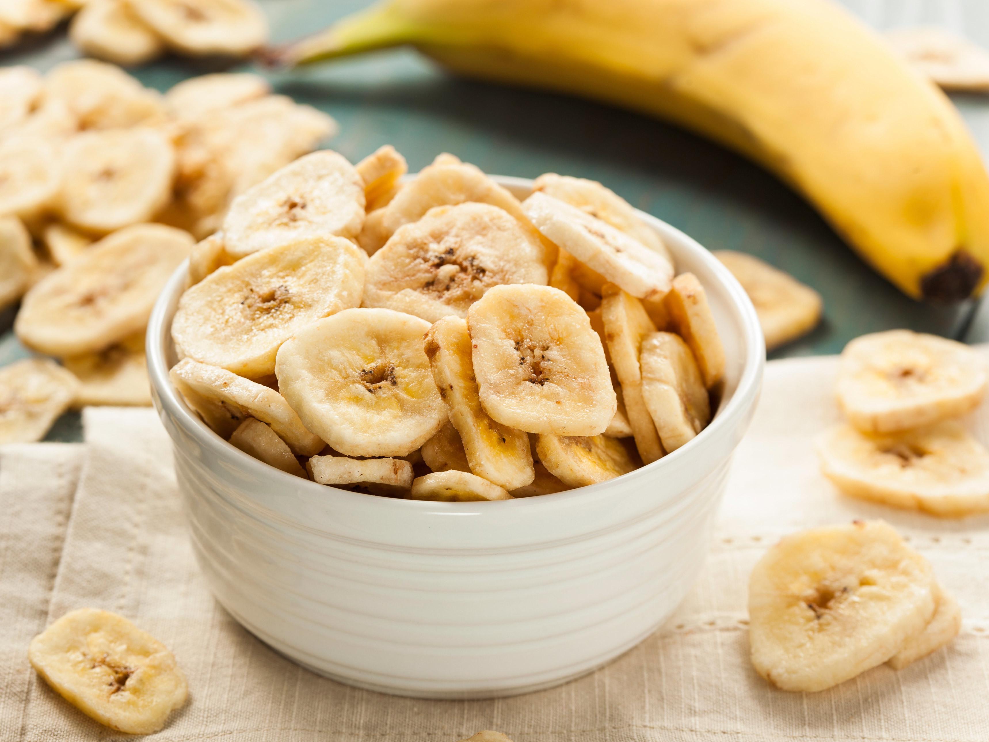 Как сушить банан в микроволновке