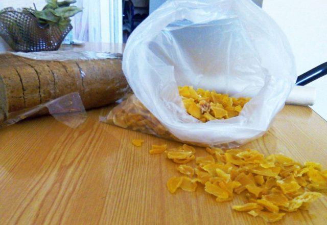 Кусочки сушеного картофеля