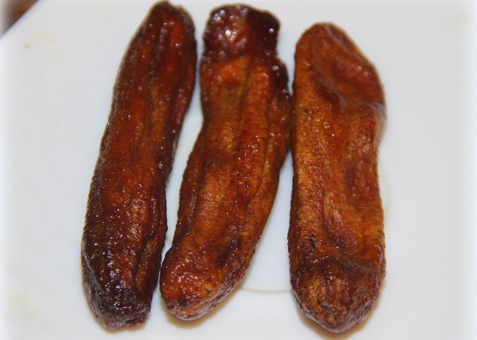 Вкусные вяленые бананы