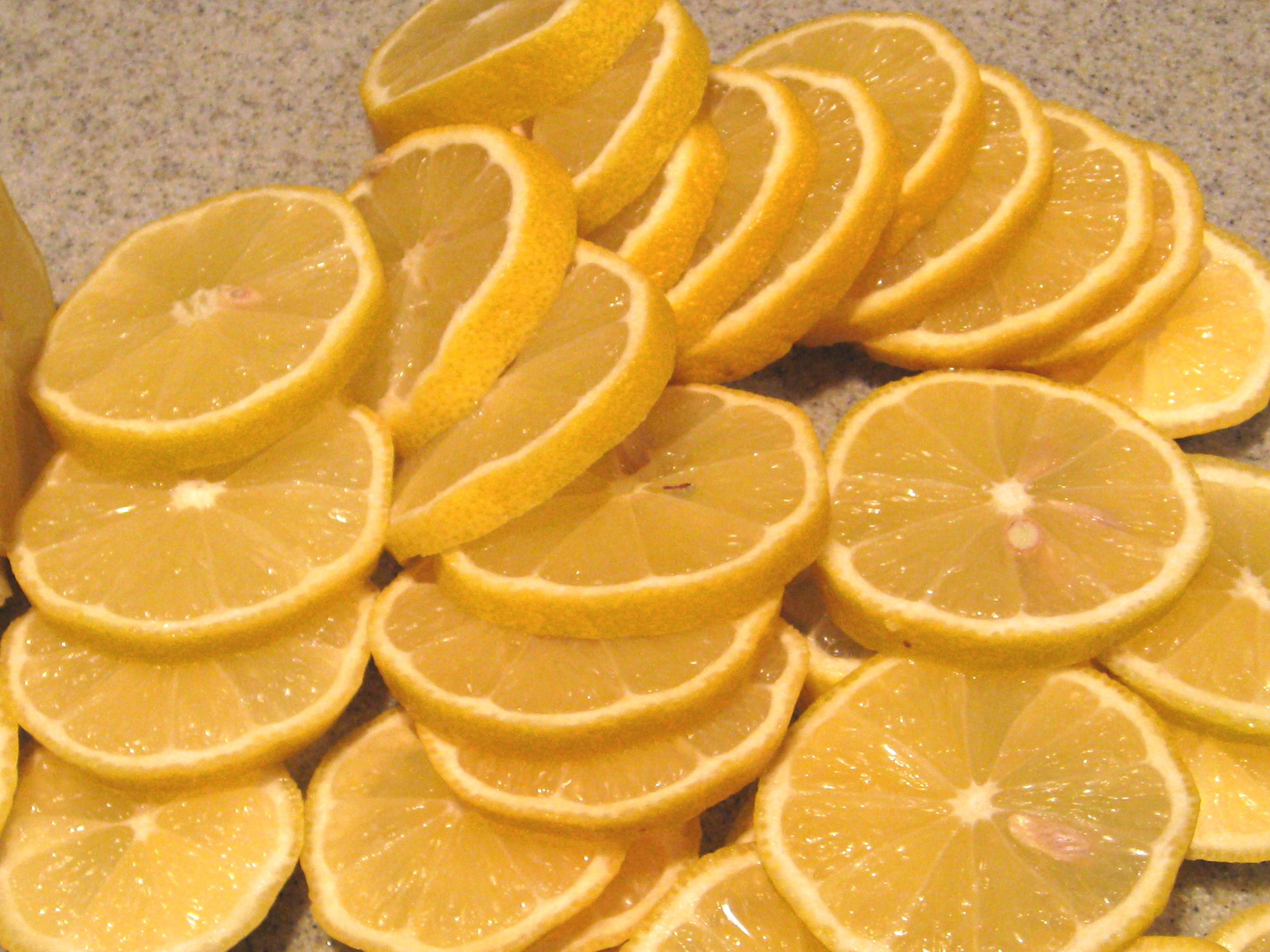 Как сушить лимон в духовке